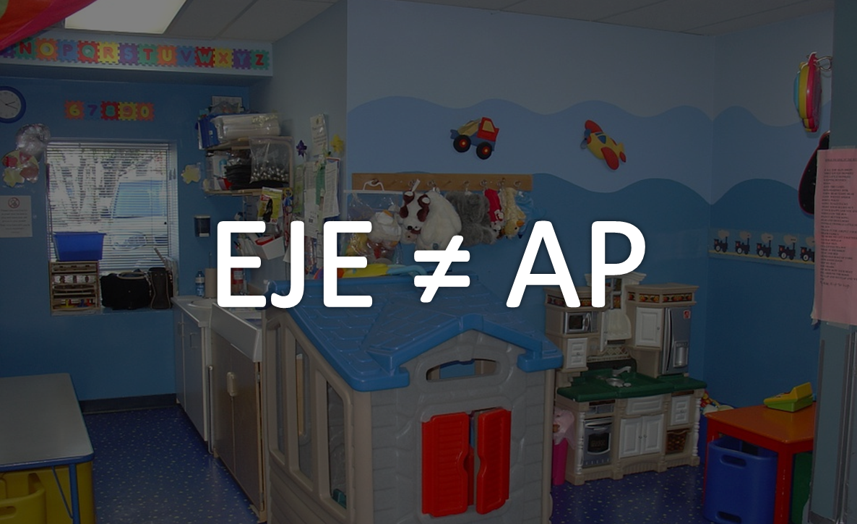 Différence entre EJE et AP
